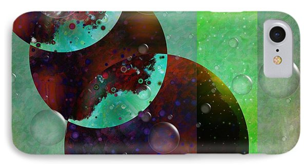 Abstract - Floaters Phone Case by Liane Wright