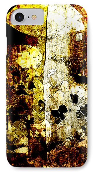 Abstract Flowers IPhone Case by Andrea Barbieri