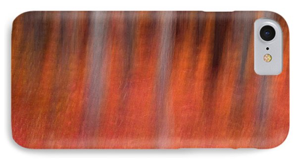 Abstract Forest 1 IPhone Case by Leland D Howard