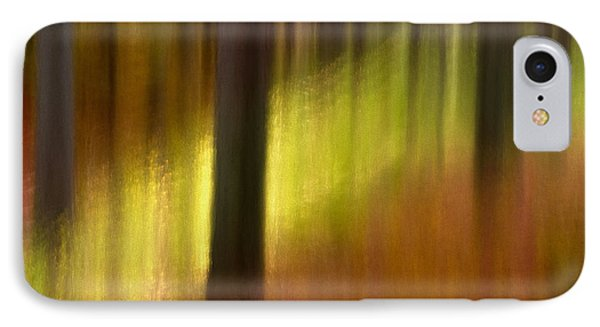 Abstract Forest 3 IPhone Case by Leland D Howard