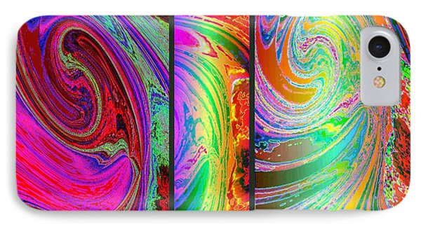 Abstract Fusion 184 IPhone Case by Will Borden