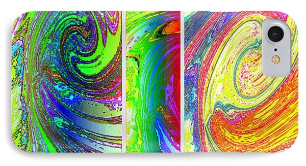 Abstract Fusion 188 Phone Case by Will Borden