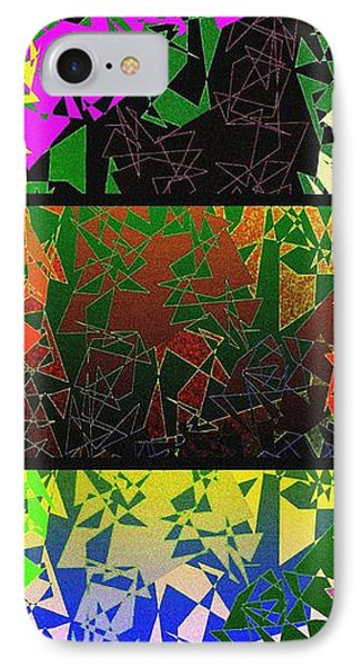 Abstract Fusion 193 Phone Case by Will Borden