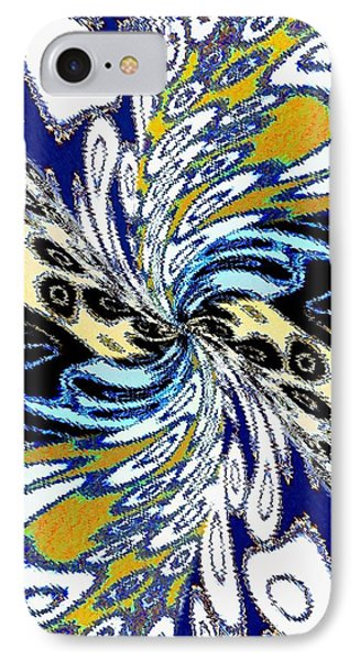 Abstract Fusion 198 IPhone Case by Will Borden