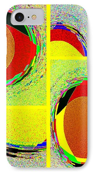 IPhone Case featuring the digital art Abstract Fusion 199 by Will Borden