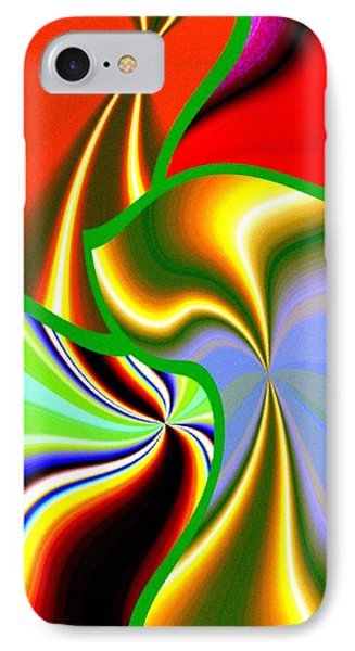 Abstract Fusion 200 IPhone Case by Will Borden