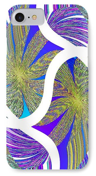 Abstract Fusion 203 IPhone Case by Will Borden
