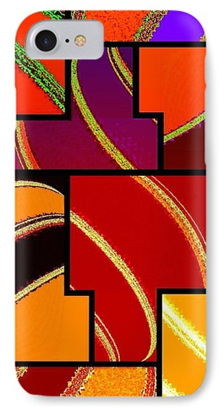 Abstract Fusion 232 IPhone Case by Will Borden