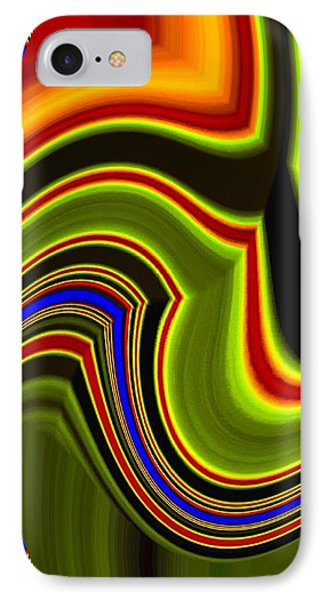 Abstract Fusion 234 IPhone Case by Will Borden