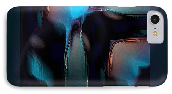 Abstract-g-19 IPhone Case by Ines Garay-Colomba