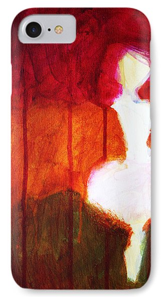 Abstract Ghost Figure No. 2 IPhone 7 Case