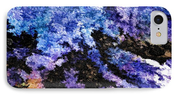 IPhone Case featuring the photograph Abstract Granite by Ludwig Keck