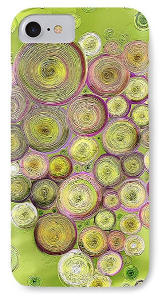 Abstract Grapes IPhone Case by Veronica Minozzi