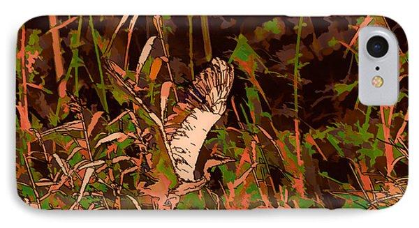 Abstract Heron   Leif Sohlman Phone Case by Leif Sohlman