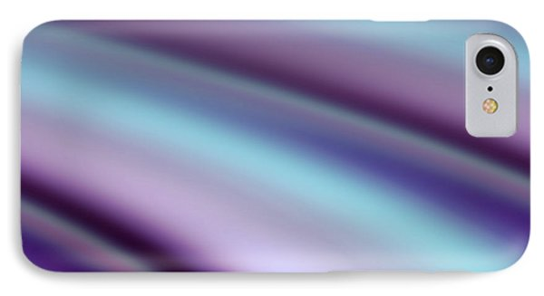 IPhone Case featuring the digital art Abstract Hues by Liz  Alderdice