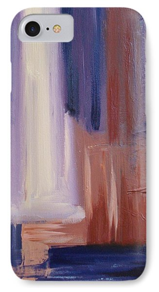 IPhone Case featuring the painting Abstract I by Donna Tuten
