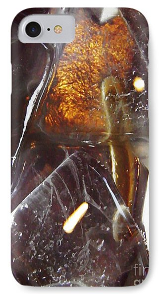 Abstract Ice 4 Phone Case by Sarah Loft