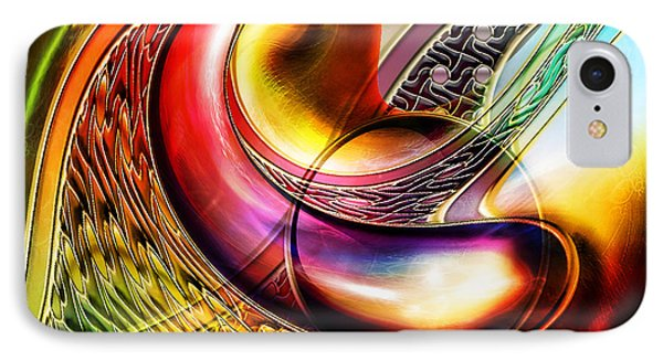 Abstract II IPhone Case by Tyler Robbins