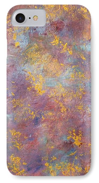 Abstract Impressions IPhone Case by Donna Dixon
