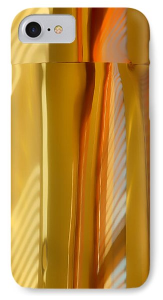 Abstract In Brass - 3 - Historic Library Building - Omaha Nebraska IPhone Case