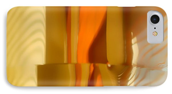 Abstract In Brass - 4 - Historic Library Building - Omaha Nebr IPhone Case