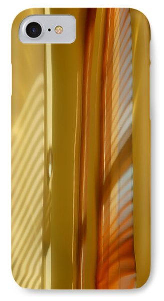 Abstract In Brass 5 - Historic Library Building - Omaha Nebr IPhone Case