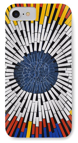 Abstract In Tape - Starburst Phone Case by Agustin Goba