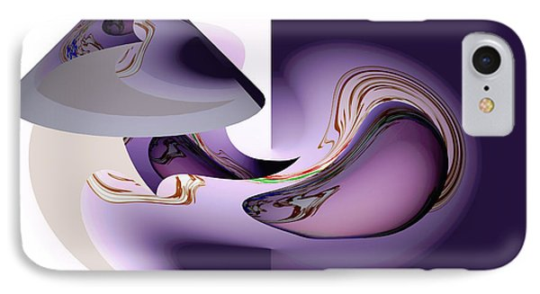 Abstract Lamp Digital Art IPhone Case