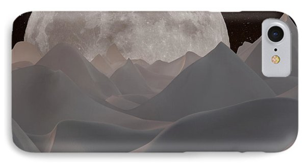 Abstract Landscape #3 IPhone Case by Wally Hampton