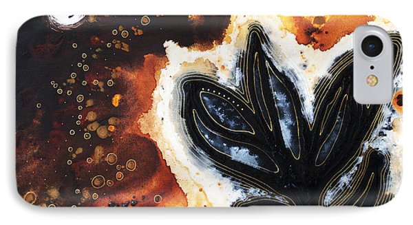 Abstract Landscape Art - New Growth - By Sharon Cummings IPhone Case by Sharon Cummings
