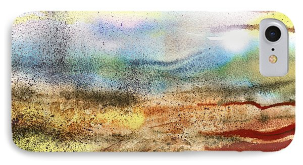 Abstract Landscape Morning Mist IPhone Case