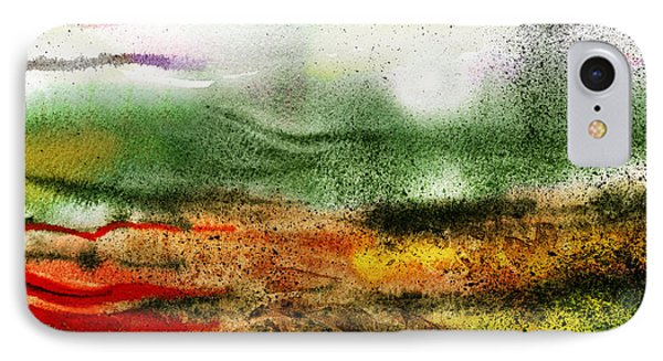 Abstract Landscape Sunrise Sunset IPhone Case