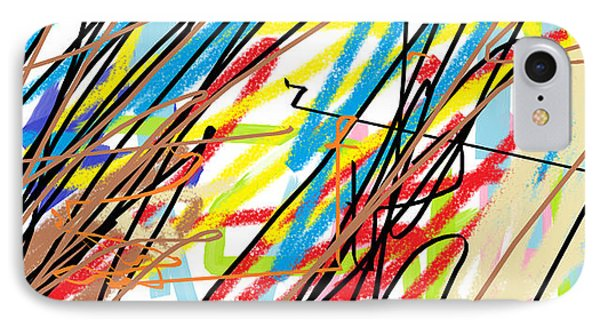 Abstract - Made By Matilde 4 Years Old IPhone Case by Giuseppe Epifani