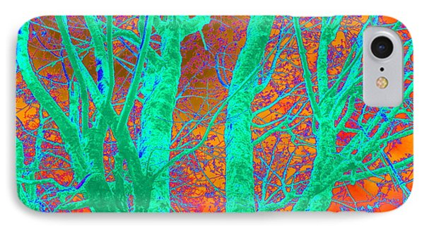 Abstract Maplei Phone Case by Kathy Sampson