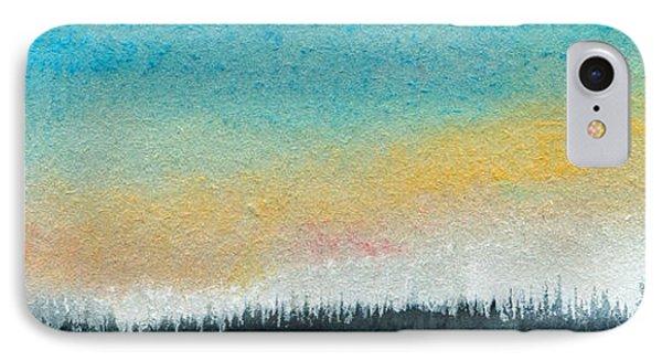 Abstract Minimalist Horizon IPhone Case by R Kyllo