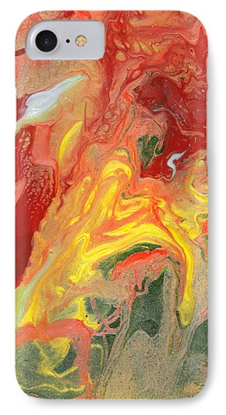 Abstract - Nail Polish - In A State Of Flux Phone Case by Mike Savad