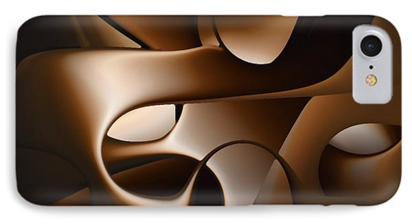 Chocolate - 005 IPhone Case by rd Erickson