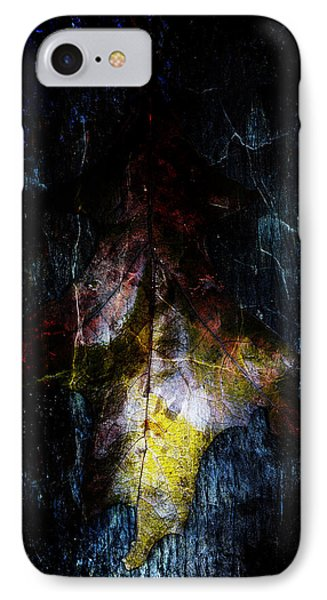 Abstract Oak Leaves IPhone Case by Tommytechno Sweden