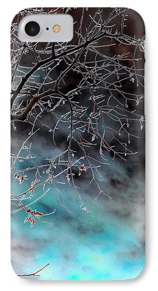 Abstract Of Winter Sunset IPhone Case