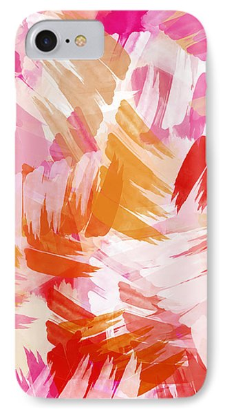 Abstract Paint Pattern IPhone Case