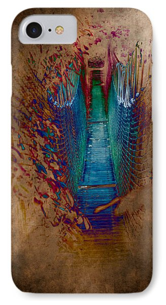 Abstract Path Phone Case by Loriental Photography