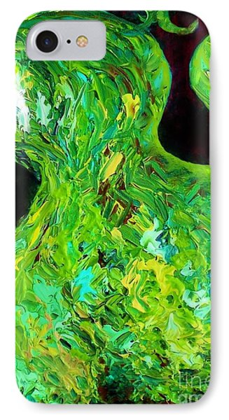 Abstract Pear Phone Case by Eloise Schneider