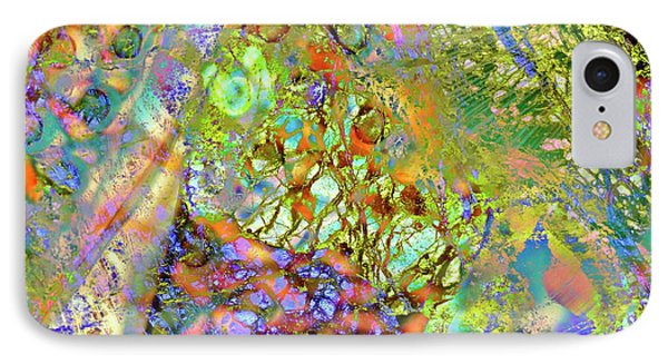 Abstract Polarised Light Micrographs IPhone Case by Steve Lowry