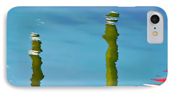 Abstract Reflection In River IPhone Case by Gary Slawsky