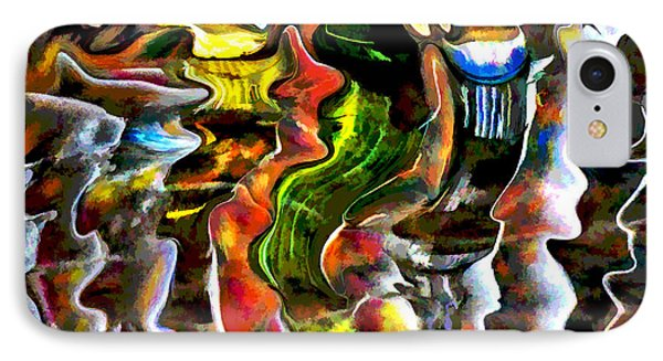 IPhone Case featuring the photograph Abstract Reflections by Vladimir Kholostykh