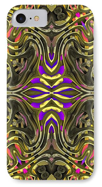 Abstract Rhythm - 31 Phone Case by Hanza Turgul