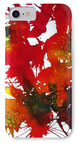 Abstract - Riot Of Fall Color II - Autumn IPhone Case by Ellen Levinson