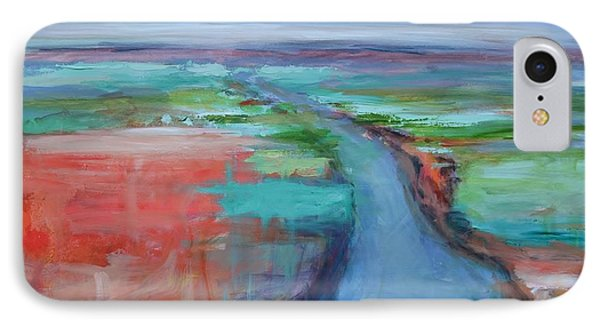 Abstract River Phone Case by Donna Tuten