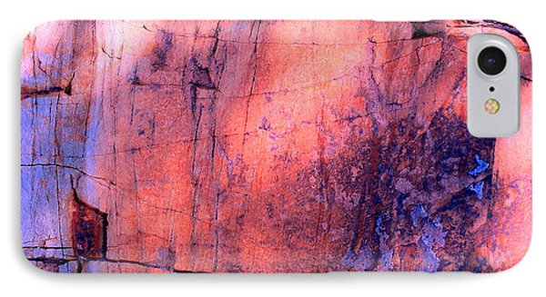 Abstract Rock 3 IPhone Case by M Diane Bonaparte