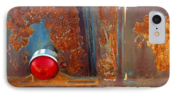 Abstract Rust IPhone Case
